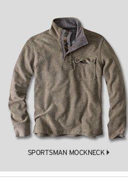 Sportsman Mockneck Pullover