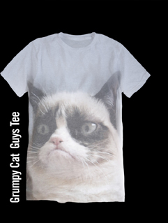 GRUMPY CAT GUYS TEE