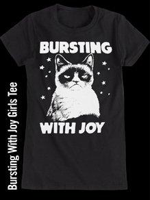 BURSTING WITH JOY GIRLS TEE