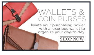 Shop Wallets and Coin Purses