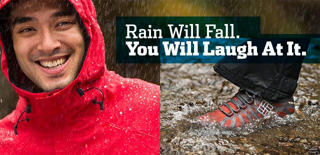 Rain Will Fall. You Will Laugh At It.