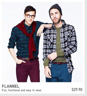 MEN FLANNEL