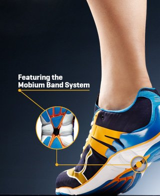 Featuring the Mobium Band System