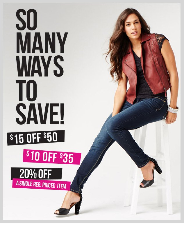 Limited Time Only! Special coupons! Up to $15 OFF! In-store and online! SHOP NOW!