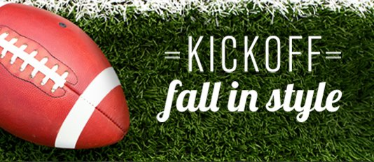 Kick off fall in style