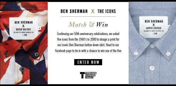 Ben Sherman X The Icons
