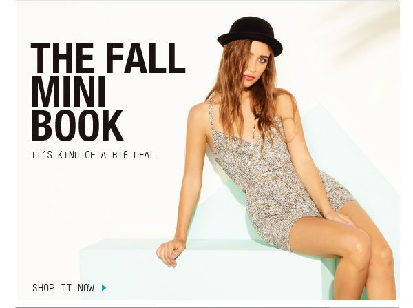 THE FALL MINI BOOK