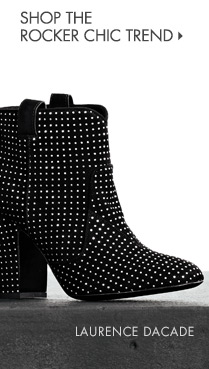 Designer Boots go Rocker Chic