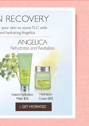 Angelica Rehydrates and Revitalizes