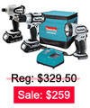 Cordless Combination Kit Sale: $259