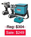 Cordless Combination Kit Sale: $249