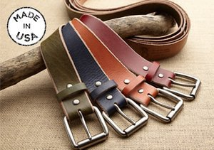 Made in USA: Belts