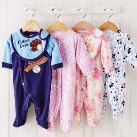 Clad for Coziness: Kids' Footies
