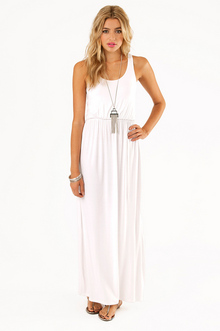 DRIVING RACERBACK MAXI DRESS 33