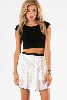 POLKA HEARTED SKIRT 19