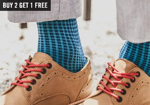 Shop Sock Stock-Up: Buy 2, Get 1 Free