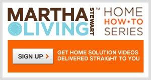 Martha How-To Home Series