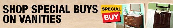 Shop Special Buys on Vanities