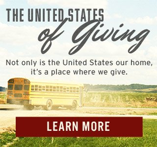 The United States of Giving - Learn More