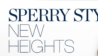 SPERRY STYLE NEW HEIGHTS