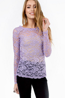 LADY IN LACE TOP 19