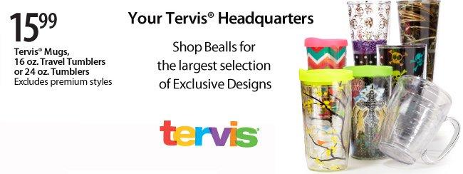$15.99 Tervis Mugs