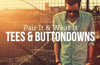 Tees & Buttondowns