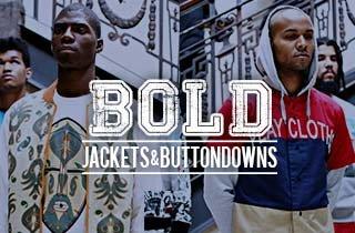 Bold Jackets & Buttondowns