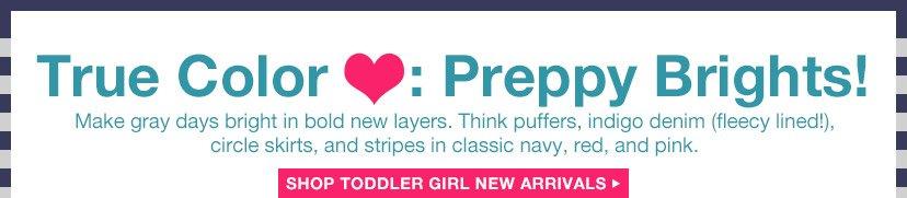 True Color ❤: Preppy Brights! | SHOP TODDLER GIRL NEW ARRIVALS