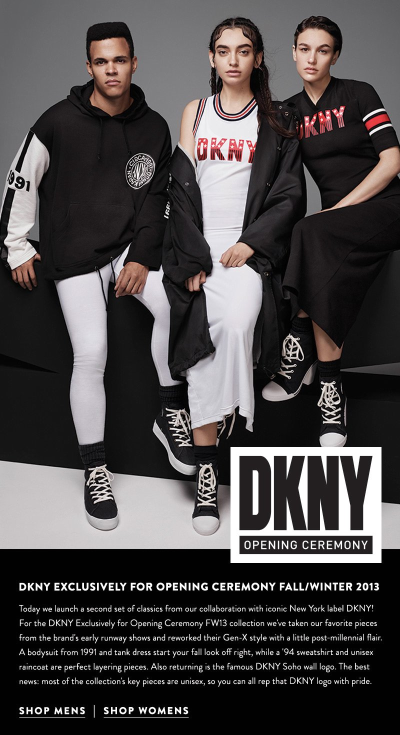 DKNY Exclusively for Opening Ceremony Fall/Winter 2013 - Shop the collection now!