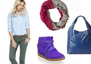 Fall Into Color: Clothing & Accessories