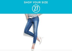 Shop Your Size: 27 Denim