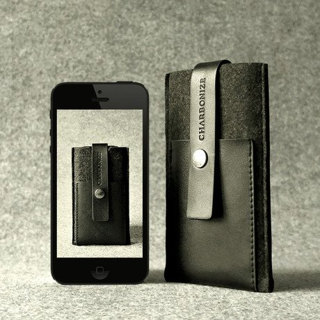 Leather Wallet // iPhone 5