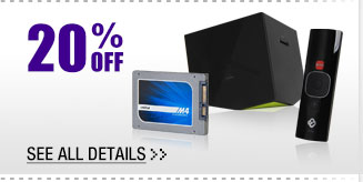 20% OFF SELECT REFURBISHED COMPONENTS!*