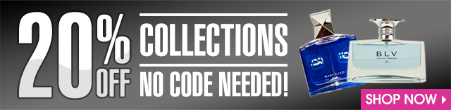 20% OFF COLLECTIONS.  NO CODE NEEDED!