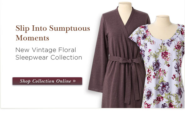 Shop New Sleepwear Now.