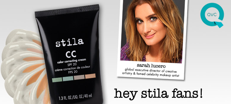 Hey Stila fans! Sarah is on QVC!