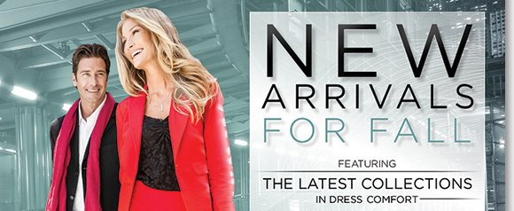 Stylish and comfortable, shop the new fall arrivals! Featuring the latest dress collections from Dansko, ECCO, ABEO, Umberto Raffini and more of your favorite brands, find styles perfect for the season ahead! Shop now to find the best selection online and in-stores at The Walking Company.