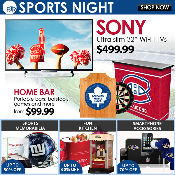 """Sony 32"""" Wi-Fi TV & Bar Essentials"""