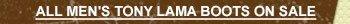 All Mens Tony Lama Boots on Sale