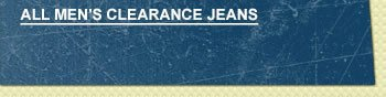 All Mens Clearance Jeans