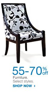 55-70% off Furniture. Select styles. Shop now.