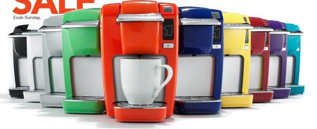 99.99 Keurig K10 MINI Plus personal coffee brewer. reg. 124.99.  Shop now.