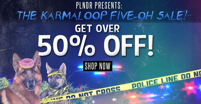 Click to shop Karmaloop at 50% off