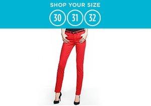 Shop Your Size: 30-32 Denim
