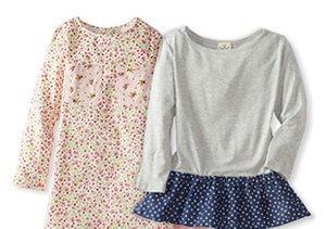 Pretty in Prints: Girls' Styles