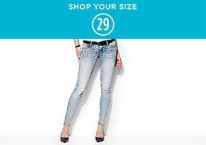 Shop Your Size: 29 Denim