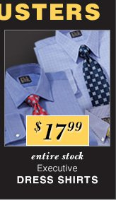 $17.99 USD - Executive Dress Shirts