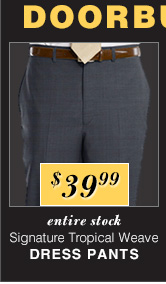 $39.99 USD - Signature Tropical Weave Dress Pants