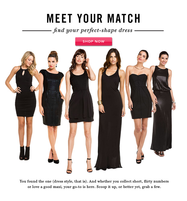 Meet Your Match: Find Your Perfect-Shape Dress